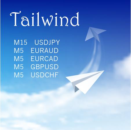 【Tailwind】多通貨ペア対応 押し目買い・戻り売りスキャル